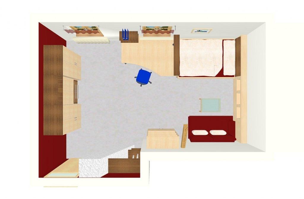 Schreinerei preisinger individuelle 3 d planungen for Jugendzimmer planen
