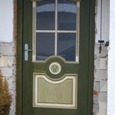 Haustüre im Landhausstil