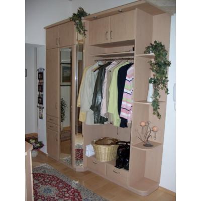 Garderobe in Wildbirne-matt